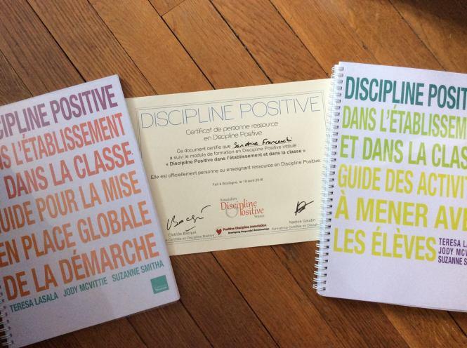 Discipline positive à l'école. Discipline positive dans la classe. Sandrine FRANCESCHI