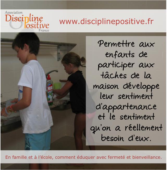 Discipline Positive. Enfants qui participent. Ateliers de parents Sandrine Franceschi